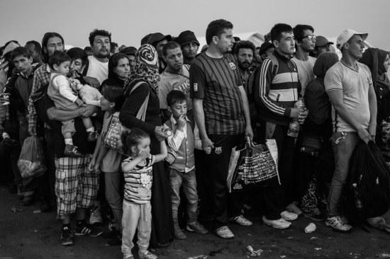 Els refugiats (foto Pau Martí Moreno)